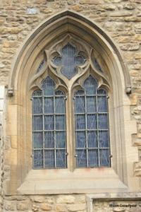 Bedford - St John the Baptist. Chancel south-east window.