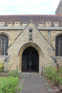 Bedford - St Peter de Merton. South porch.