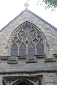 Bedford - St Peter de Merton. West window.