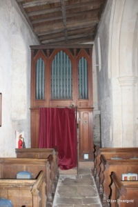 Swineshead - St Nicholas. North aisle, east end internal.