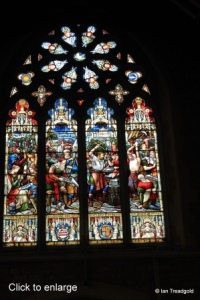 Bedford, St Peter de Merton. West window, internal.