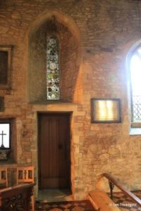 Bedford - St Peter de Merton. Chancel window internal.