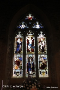 Bedford, St Peter de Merton. East window, internal.