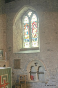 Bedford - St Peter de Merton. Chancel, south-east window, internal.