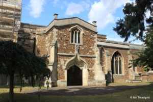 Biggleswade - St Andrew. South porch.