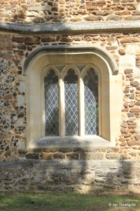 Biggleswade - St Andrew. South porch, west window.