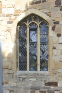 Biggleswade - St Andrew. South aisle, west window.