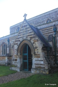 Tempsford - St Peter. North porch.