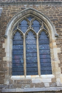 Biggleswade - St Andrew. Chancel south window.