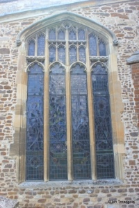Biggleswade - St Andrew. South aisle, east window