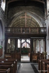 Biggleswade - St Andrew. Rood screen.