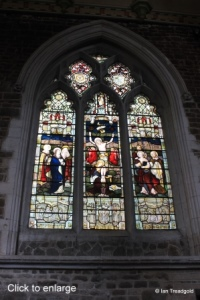 Biggleswade - St Andrew. Windows - internal.