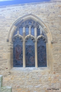 Thurleigh - St Peter. South aisle, east window.