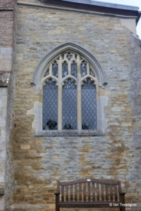 Thurleigh - St Peter. South aisle, west window.