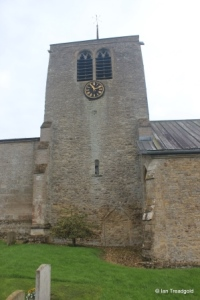 Thurleigh - St Peter. Tower from the north.