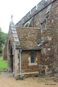Blunham, St Edmund or St James. North porch from the west.