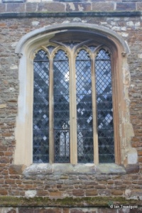 Blunham, St Edmund or St James. North aisle window.