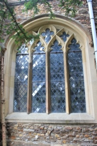 Blunham, St Edmund or St James. South aisle, south-east window.