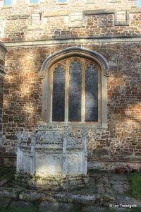 Tingrith - St Nicholas. South aisle, south-west window.