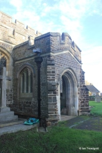 Tingrith - St Nicholas. South porch.