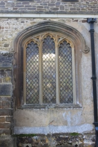 Tingrith - St Nicholas. North aisle, north-west window.