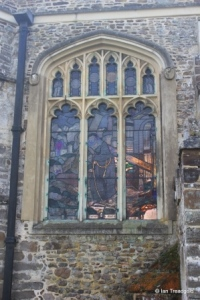 Tingrith - St Nicholas. Chancel, north-east window.