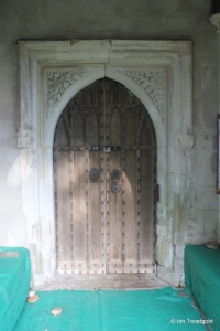 Tingrith - St Nicholas. South door.