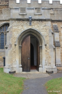 Cople - All Saints. South porch.