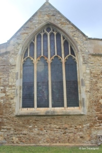 Cople - All Saints. East window.