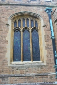 Cardington - St Mary. South aisle, south-west window.