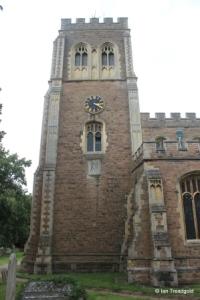 Cardington - St Mary. Tower from the south.