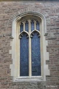 Cardington - St Mary. South aisle, west window.