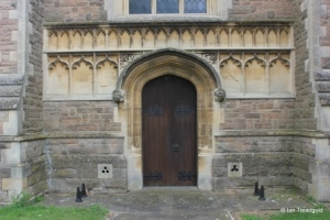 Cardington - St Mary. West door.