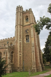 Cardington - St Mary. Tower from the north.