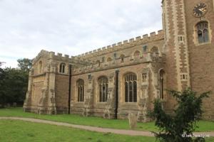 Cardington - St Mary. North aisle and transept.