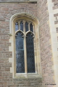 Cardington - St Mary. North aisle, west window.
