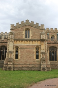 Cardington - St Mary. Transept from the north.