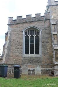 Cardington - St Mary. South chapel, east window.