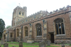 Cardington - St Mary. South aisle and chapel.