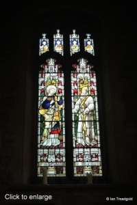 Cardington - St Mary. South aisle, west window internal.