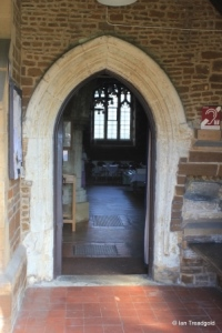 Campton - All Saints. South door.