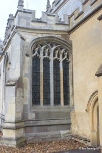Totternhoe - St Giles. South aisle, east window.