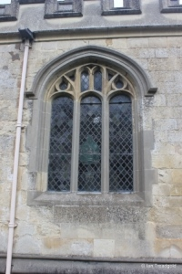 Totternhoe - St Giles. South aisle, south-east window.