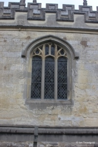 Totternhoe - St Giles. South aisle, centre window.