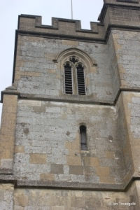 Totternhoe - St Giles. West tower from the south.