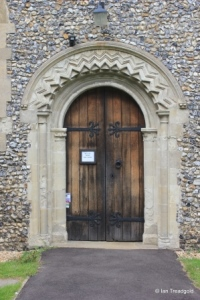 Caddington - All Saints. South door.