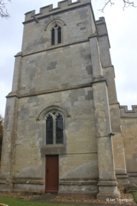 Totternhoe - St Giles. West tower from the west.