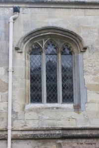 Totternhoe - St Giles. North aisle, western window.