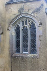 Totternhoe - St Giles. Vestry, east window.