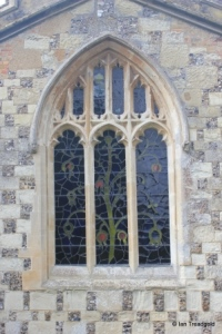 Totternhoe - St Giles. East window.